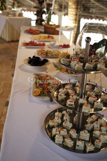 Buffet in Fornace