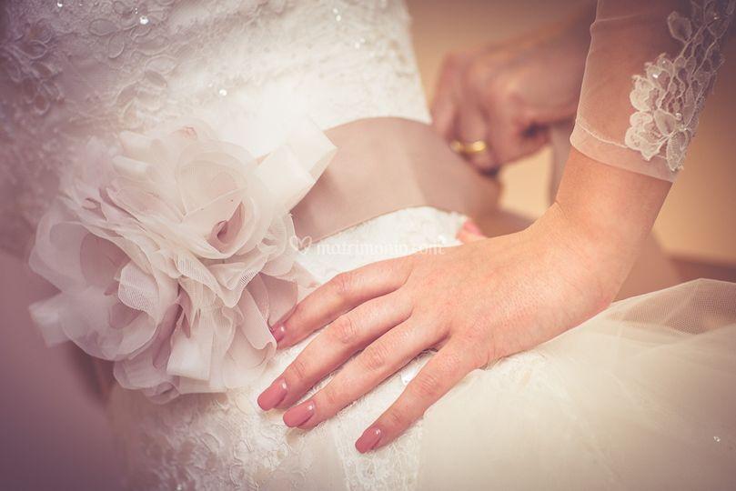 Wedding particolare vestito
