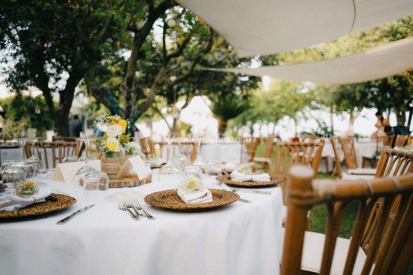 G+M Wedding dinner