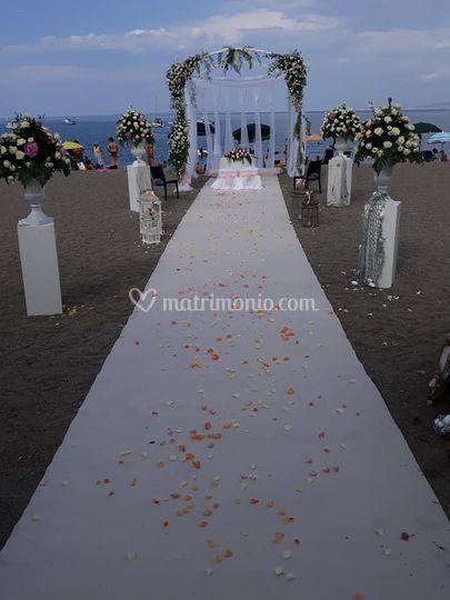 Wedding in spiaggia