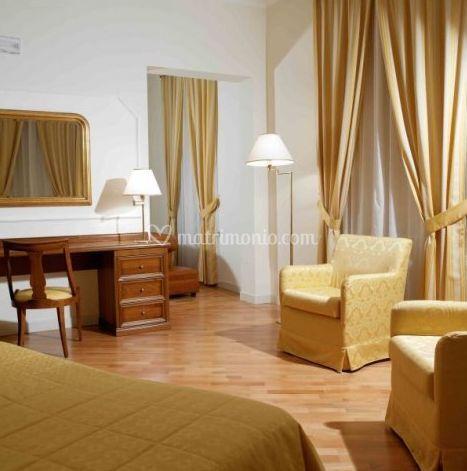 Camere spaziose e confortevoli
