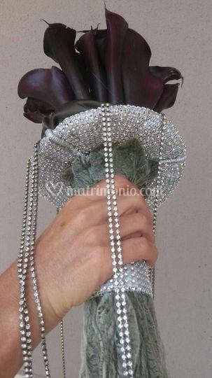 Mazzo sposa gioiellom