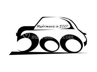 matrimonio in 500 logo di matrimonio in fiat 500 vintage