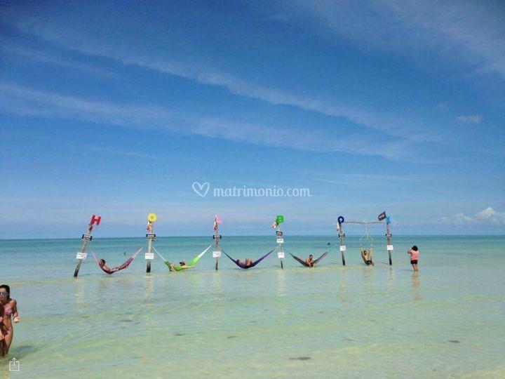 Holbox isla Caribe