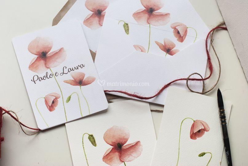 Tema Matrimonio Segni Zodiacali : Partecipazioni tema fiori di fatti segni fotos