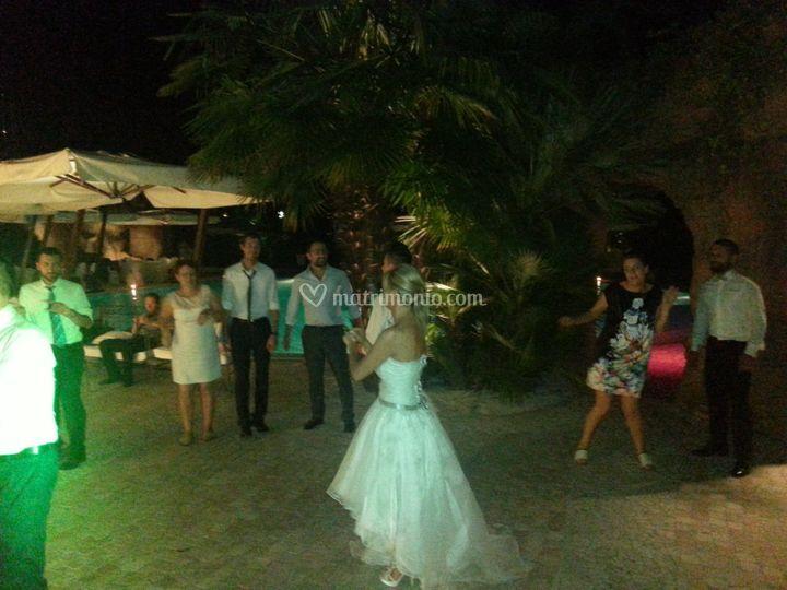 Sposa in pista!