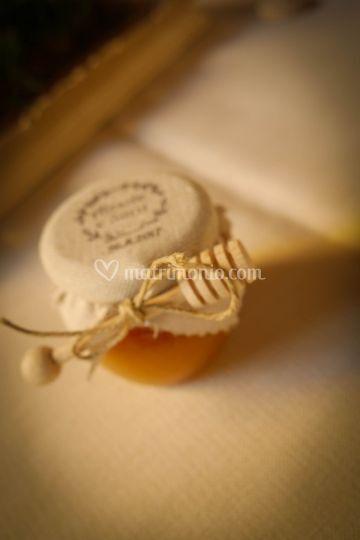 Cadeaux ospiti con logo Sposi