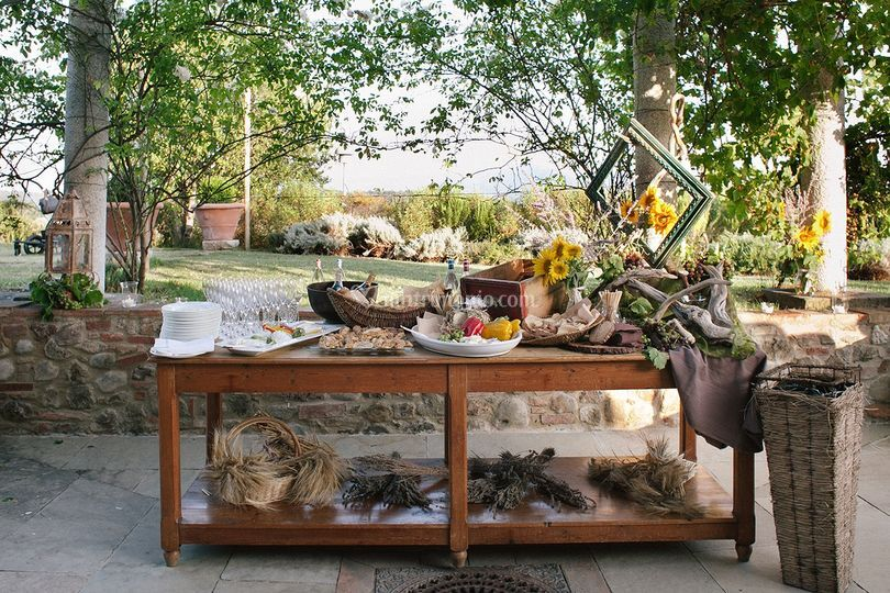 Buffet Country chic