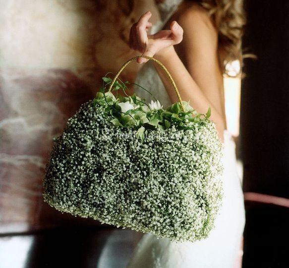 Sweet bag bouquet