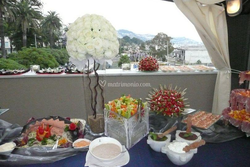 Buffet in terrazza 4