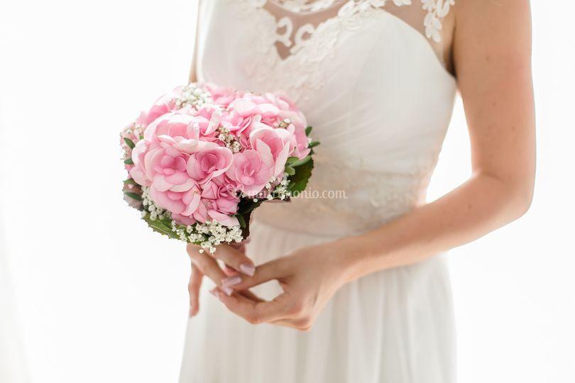 Delicato bouquet rosa