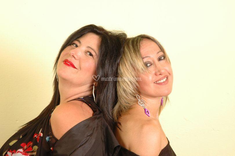 Lidia e Samantha