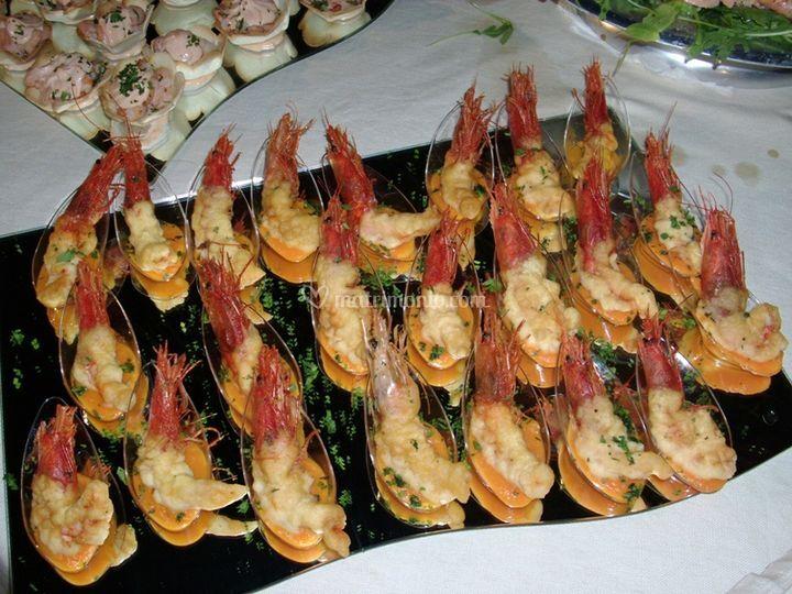 I buffet con finger food
