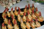 I buffet con finger food di Country Resort Borgo Abacena ****