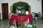 Tavolo sposi di Country Resort Borgo Abacena ****