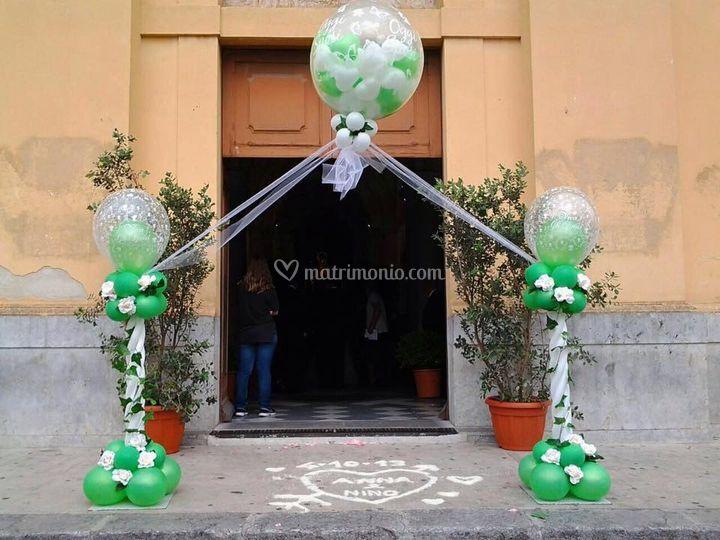 Ballon wedding