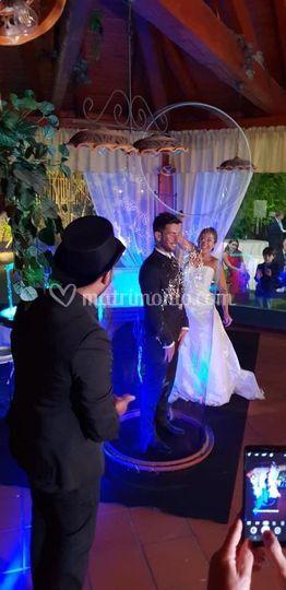 Sposa che ingloba lo sposo
