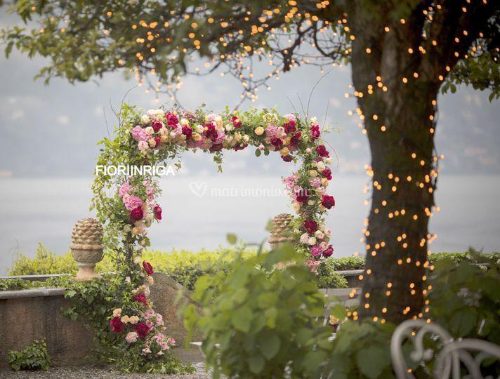 Arco sul lago di Como