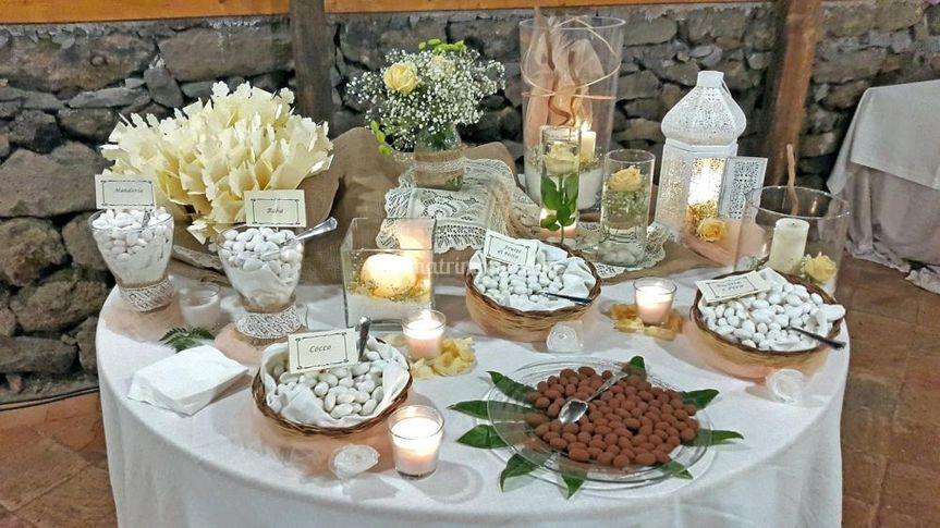 Tavolo Matrimonio Country Chic : Angels among rose