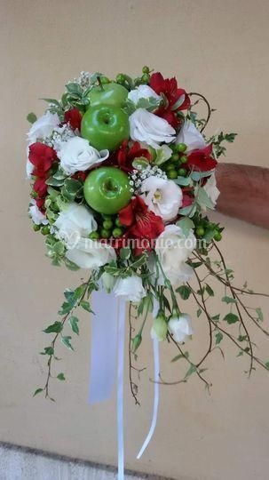 Bouquet con frutta