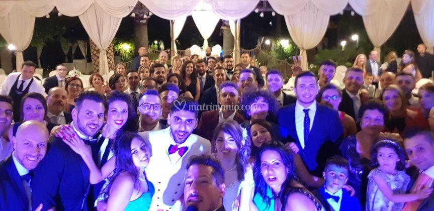 Selfie evento matrimonio