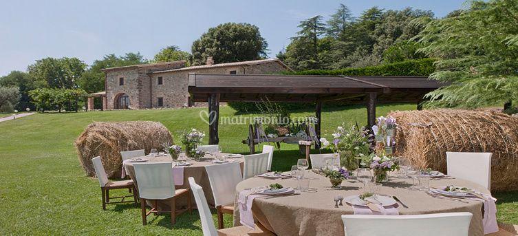 Borgo san faustino - Matrimonio in giardino ...