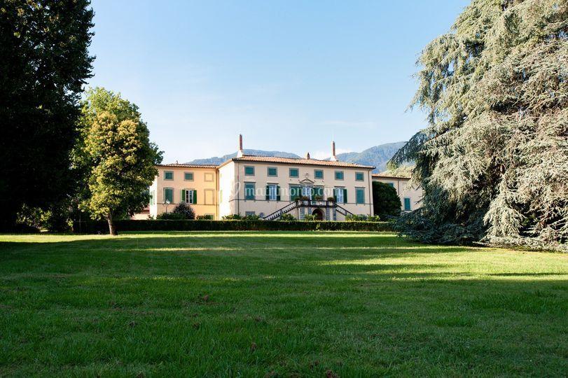 La villa e il parco