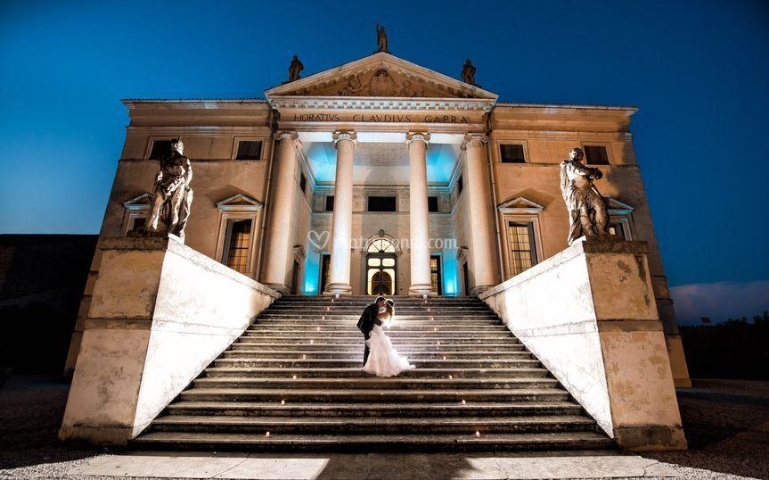 Matrimonio Villa Capra