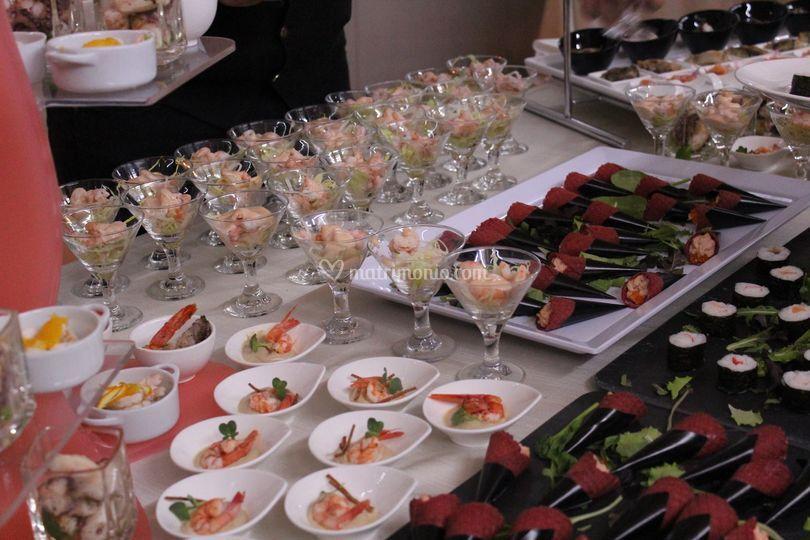 Buffet aperitivo (marinaro)