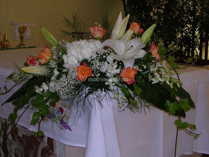 Ortensie, rose e orchidee