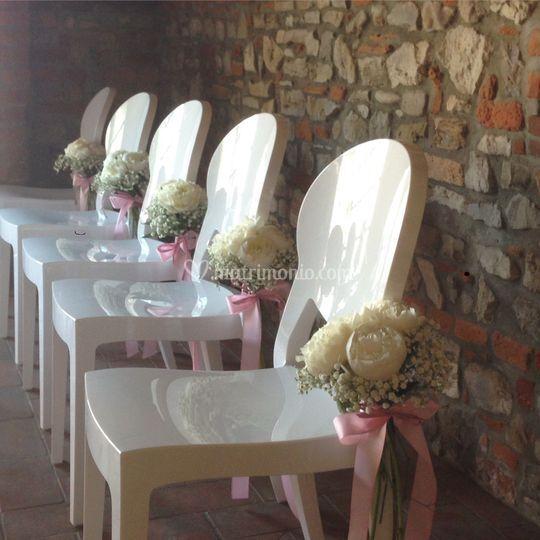 Boutique dei fiori for Sedie vestite