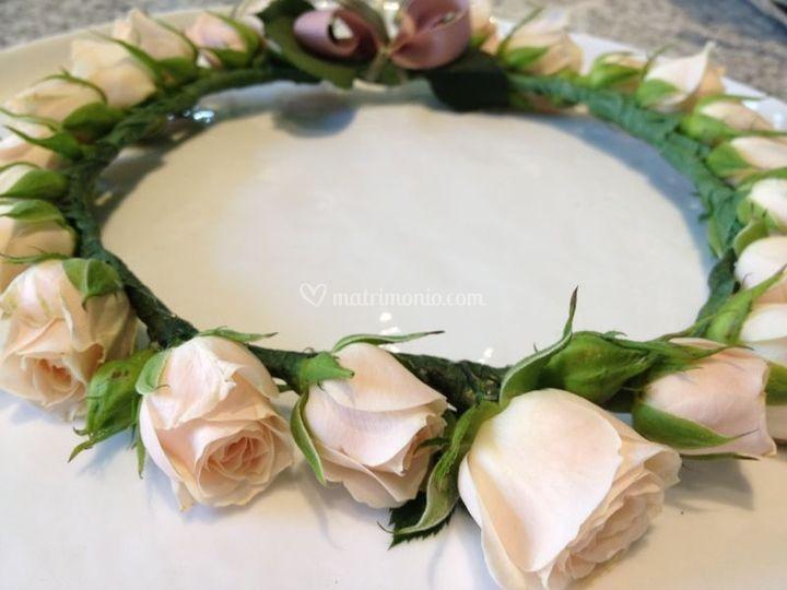 Coroncina di rose