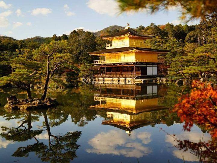 Kyoto-- arashiyama padiglione