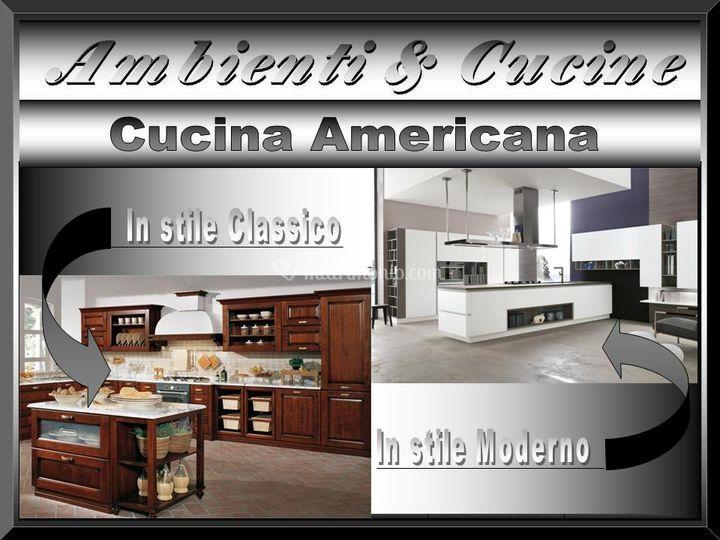 Ambienti cucine centro cucine stosa - Cucina americana ...