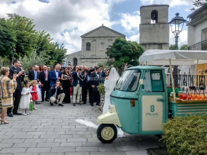 Aperitivo apecar wedding