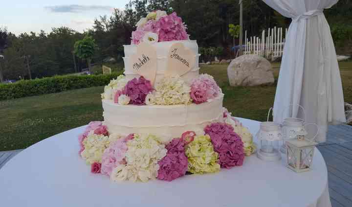 Torta in gazebo