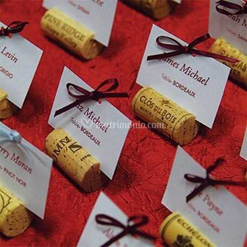 Segnaposto Matrimonio Vino.Segnaposto Tema Il Vino Di Il Matrimonio Che Vorrei Foto 11