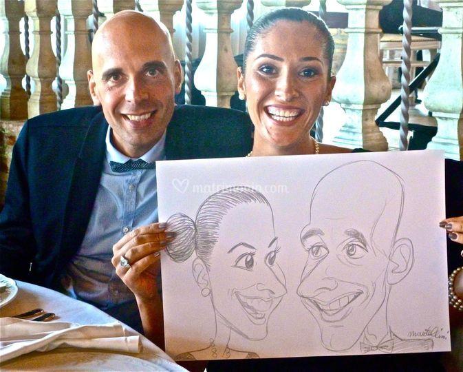 Caricature di Martellini