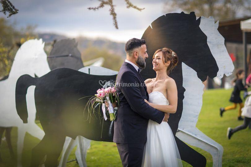 Sposi e cavalli