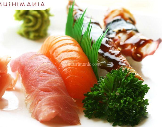 Sushi impiattato