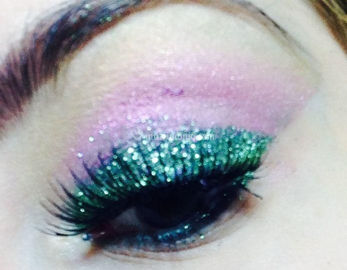 Makeup evento natalizio