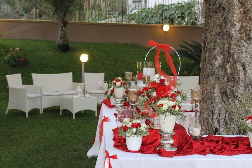 Festa di Laurea in giardino