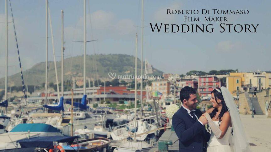 Wedding frame video