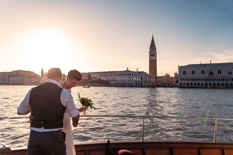 Sposi in Piazza San Marco