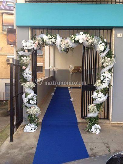 Addobbo casa sposa di la corbeille allestimenti floreali foto 184 - Addobbi floreali matrimonio casa sposa ...