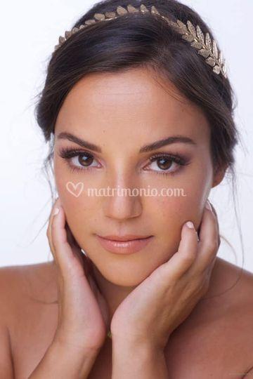 Makeup sposa toni neutri
