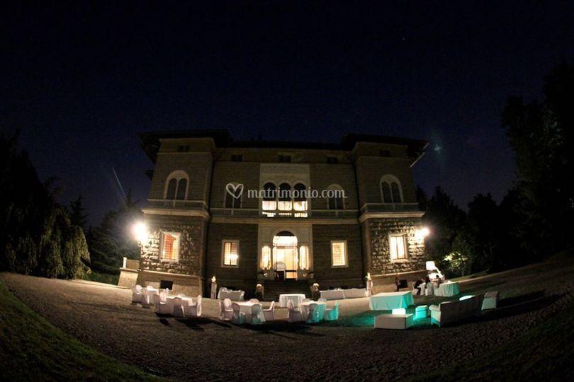 Party serale in Villa del Bono