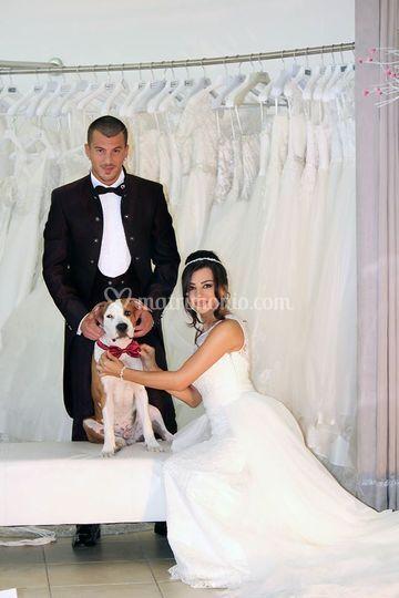 Abiti da sposo e da sposa