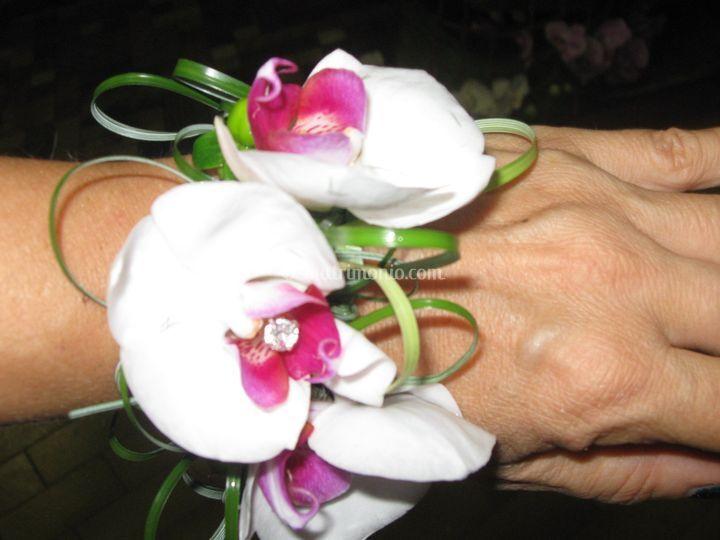 Braccialetto di orchidee