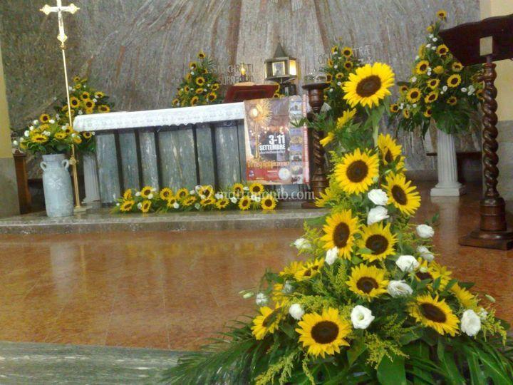 Girasoli Finti Matrimonio : La florida fiori
